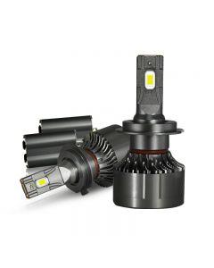 High Power 130W 30000Lm H7 H11 Canbus Car LED Headlight H4 9005 9006 Head Lamp H1 Turbo Fan 6000K Bulb