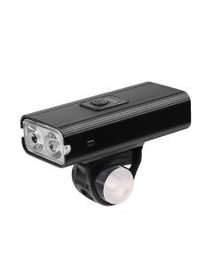 2*T6 LED Bicycle Light USB Rechargeable 800 Lumen 6 Mode Waterproof Cycling Front Lamp Headlight