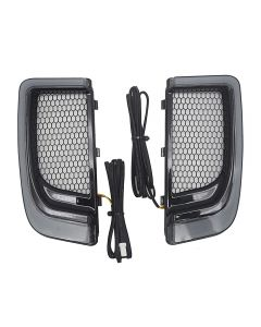 Motorcycle LED Fairing Lower Grills Light For Harley Touring 14-19 CVO Street Glide Electra Road